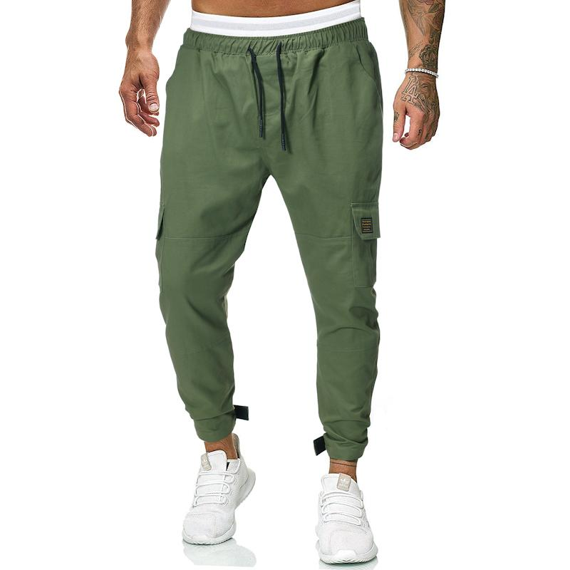 Trouserspants Men's Trousers Overalls Black Army Green Casual Sportswear Cargo Pants For Men Sweatpants