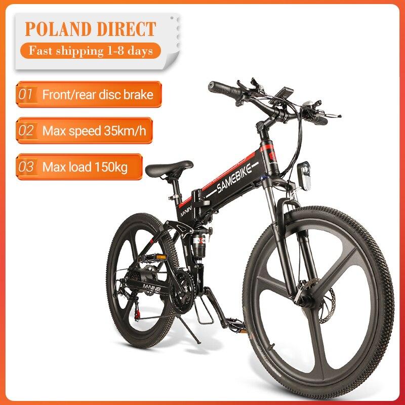 EU-Direct-SAMEBIKE-LO26-350W-ciclomotore-bicicletta-elettrica-pieghevole-bicicletta-elettrica-10-4Ah-48V-35 Offerte Bici Elettriche 2021: 11° Anniversario Aliexpress