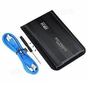 "Image 5 - Hot USB 3.0 USB 2.0 2.5"" inch SATA External Hard Drive Mobile Disk HD Aluminum Enclosure/Case Box Al Case"