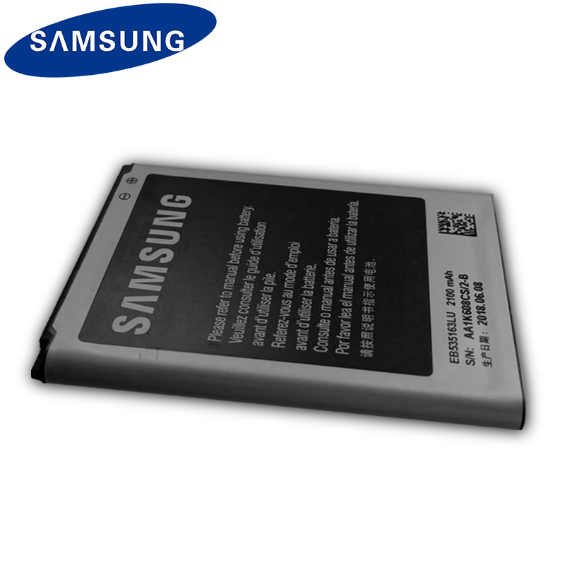Original Samsung Phone Battery EB535163LU For Samsung I9082 Galaxy Grand DUOS I9080 I879 I9118 Neo+ i9168 i9060 2100mAh 3
