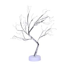 Drzewo Bonsai światła 108 LED Shimmer oddziałów baterii i USB dla majsterkowiczów domu 090D tanie tanio 090D8YY604332-WW NONE CN (pochodzenie)