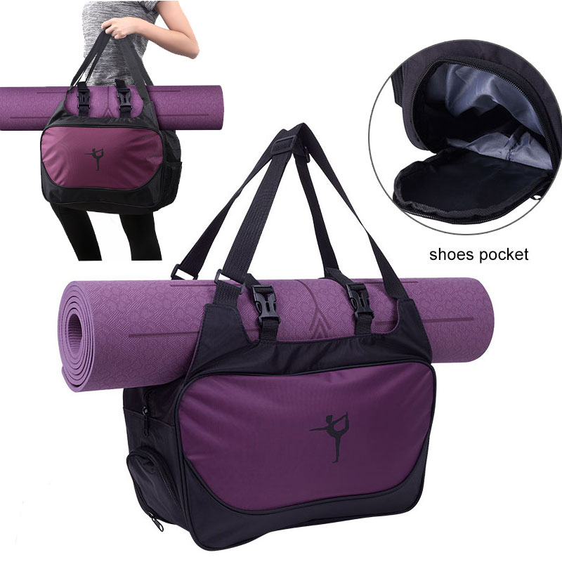 Yoga Mat Bag Fitness Gym Bags For Women 2019 Sac De Sport Men Sports sporttas Bag Bolsa Deporte Mujer Tas Bolso Bag Femme XA66A|Gym Bags| - AliExpress