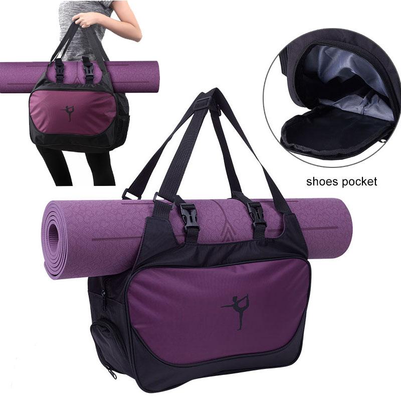 Yoga mat çantası spor spor çantaları kadınlar için 2019 Sac De spor erkekler spor sporttas çantası Bolsa Deporte Mujer Tas Bolso çanta Femme XA66A