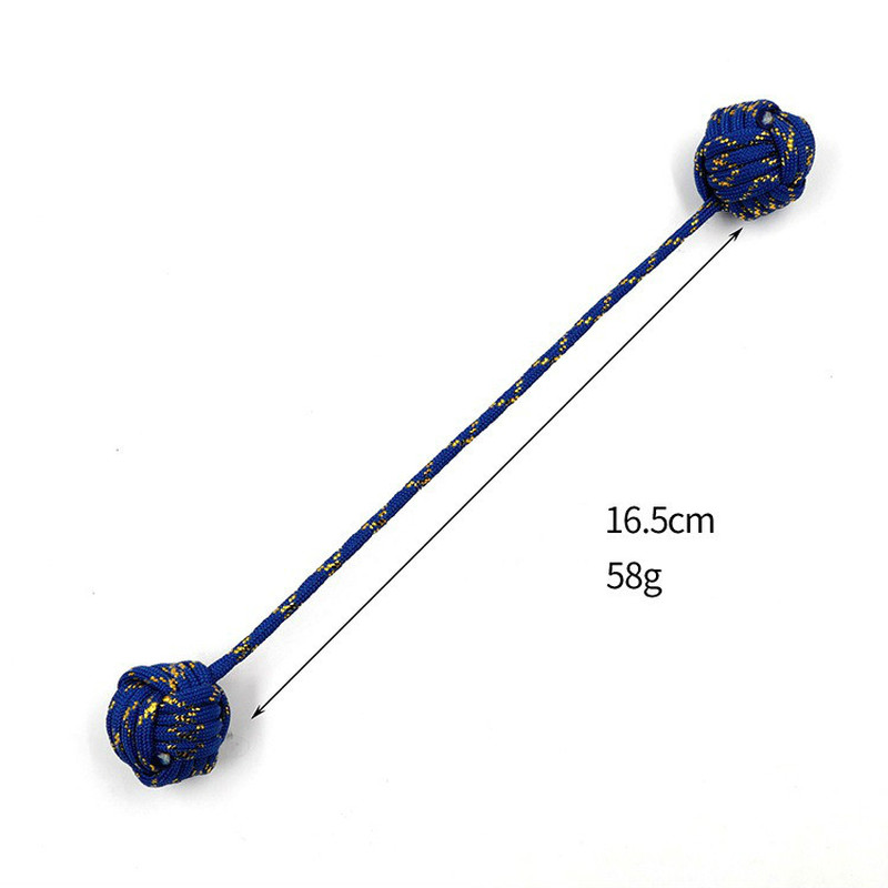 Fidget-Toy Begleri Worry-Beads Stress Paracord Electroplating Finger-Skill Steel-Ball img3