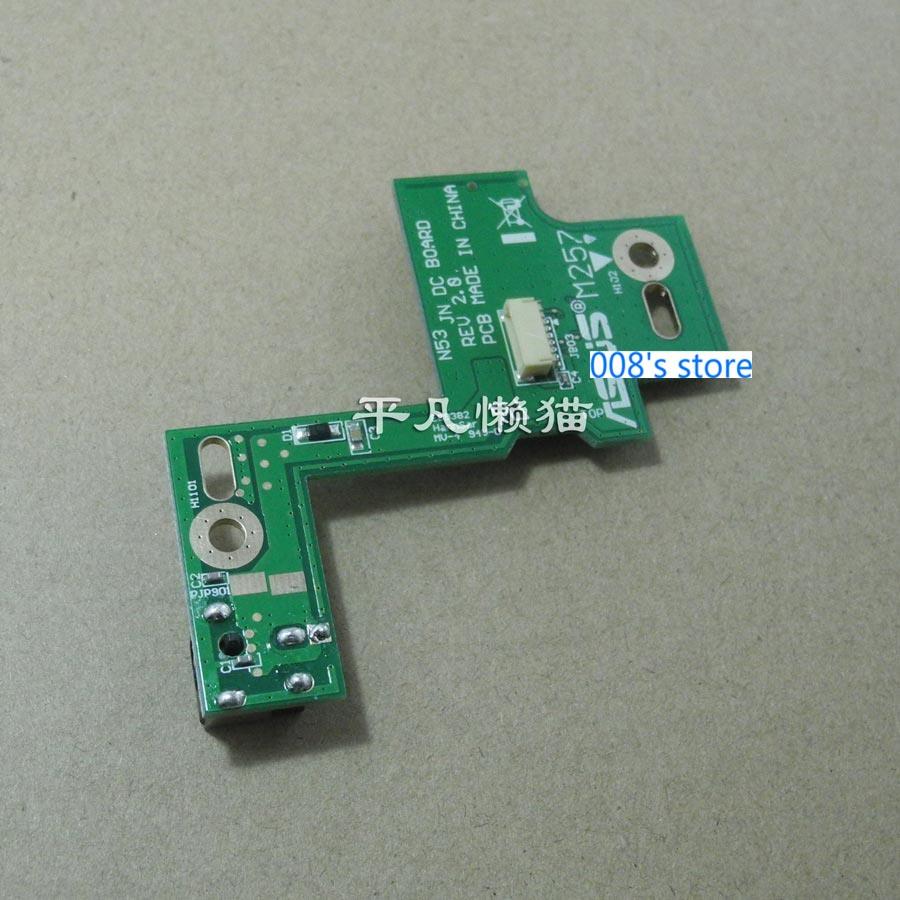 New Power Jack Port For ASUS N53SV N53 N53S N53J N53TA N53TK N53SM N53DA N53SL N53SN N53JG N53JN N53JF DC-IN Socket SWITCH BOARD