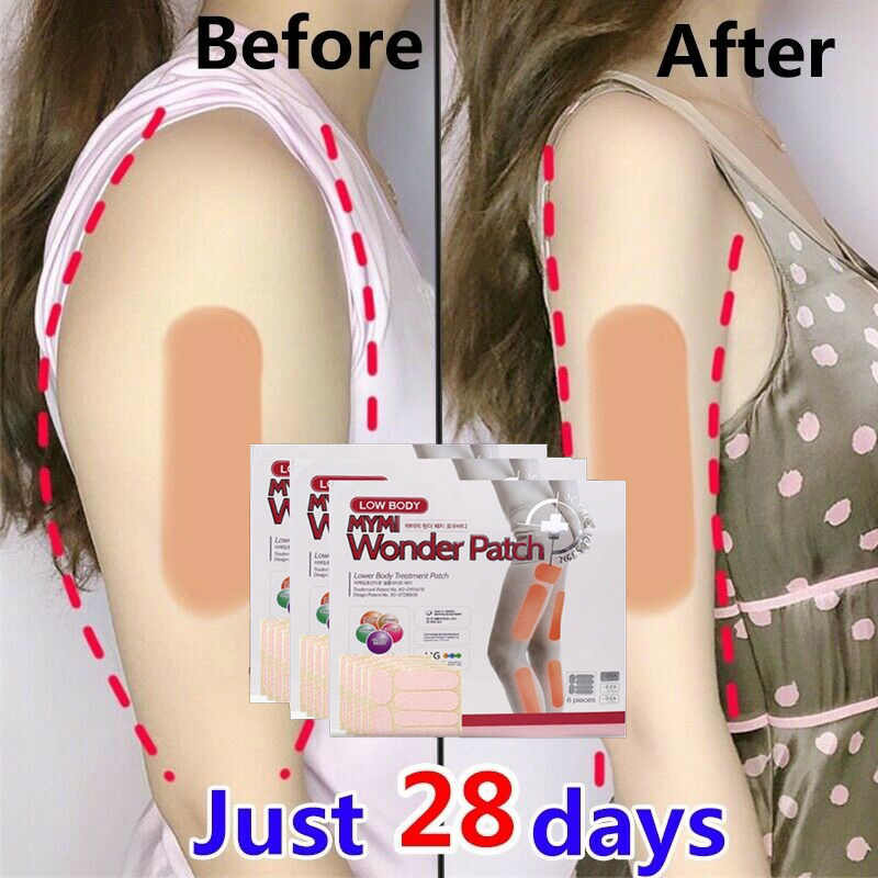 Lower Body Slim Patch 10 Pieces /Box Leg Slim Pad Body Weight Loss Plaster Fat Burning Patches Natural Ingredients