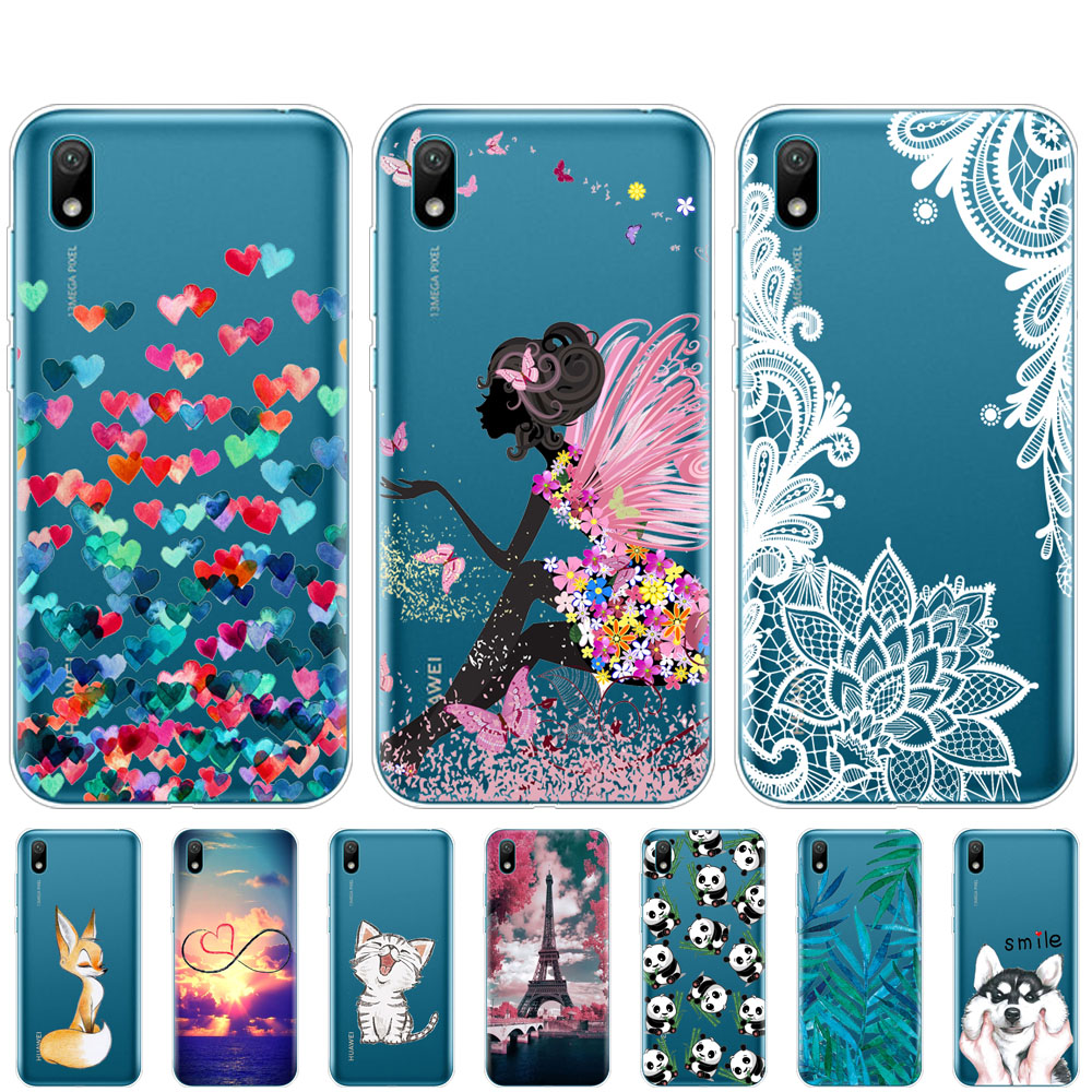 Case For Huawei Y5 2019 Case Cover Silicone TPU Back Funda Coque For Huawei Y5 2019 Bumper 5.71 Inch Funda Skin Shockproof