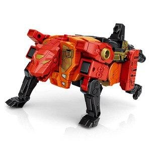 Image 3 - G1 transformação predaking divebomb rampage cabeça oversize guerra modo águia figura de ação robô brinquedos