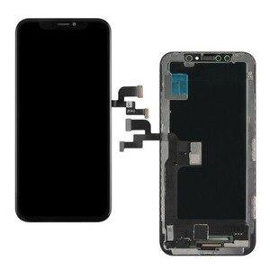 Image 3 - AAA + + + עבור iPhone X AMOLED JK/GX רך OLED מגע מסך עם Digitizer עצרת GX/ ZY קשה OLED החלפת תצוגת TFT LCD