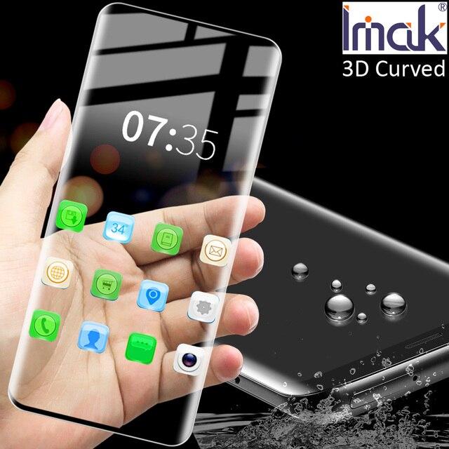 Imak 3D Gebogen Gehärtetem Glas Für Samsung Galaxy S20 Ultra Plus oleophobe Full Screen panel Kleber