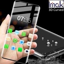 Imak 3D Gebogen Gehard Glas Voor Samsung Galaxy S20 Ultra Plus Oleophobic Full Screen Panel Lijm