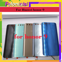 10pcs/lot For Huawei Honor 9 STF-L09 STF-AL10 STF-L09 Battery Cover Back Housing Rear Door Case Battery Cover Panel Replacement туника stf