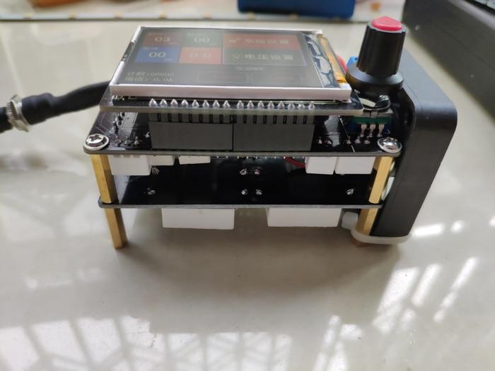 6Y880 Energy Storage Spot Welder Control Panel Adjusts Time Current Digital Display Spot Welder Transformer Controller Kit