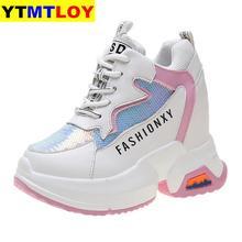 2020 Women's Platform Wedge Shoes 10cm High Heel Increasing