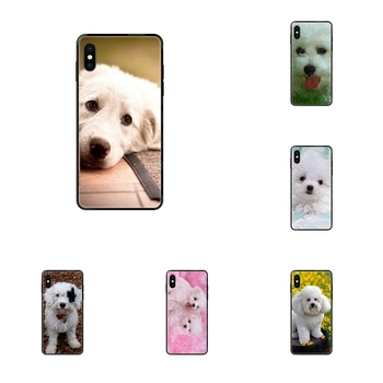 Fine Bichon Frise Dog Black Soft Cool Best Cover Case For Redmi Note 4 5 5A 6 7 8 8T 9 9S Pro Max image