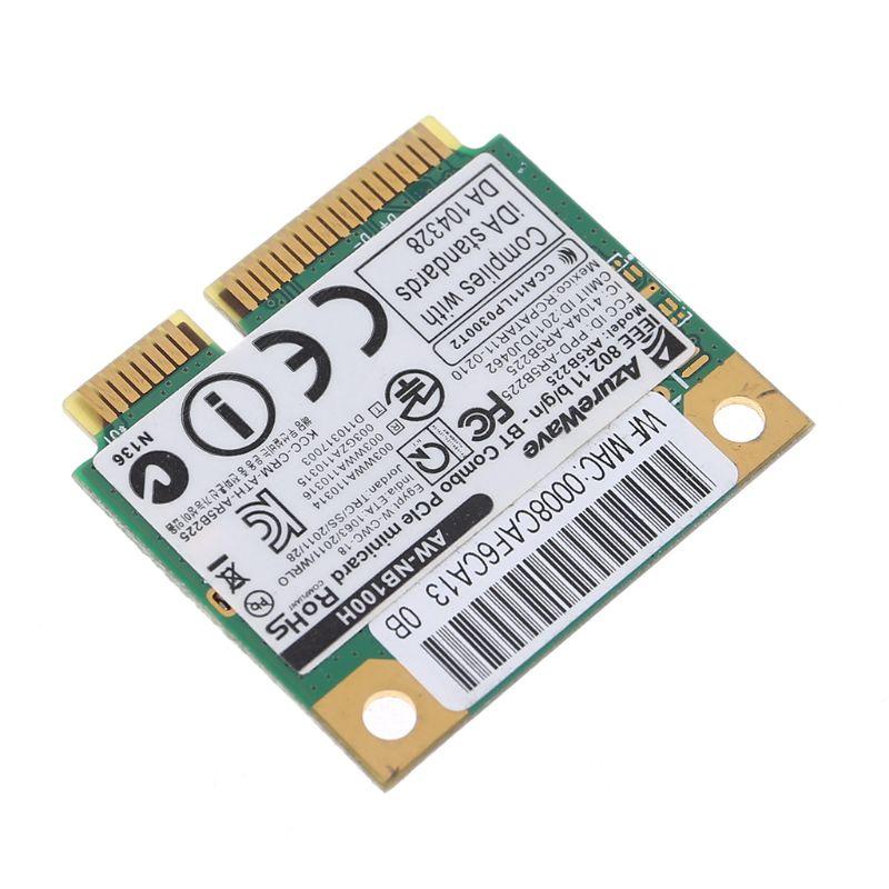 AW-NB097H AW-NB126H AR9485 AR5B225 Half Mini PCI-Express BT4.0 Wireless Card Kit 83XB