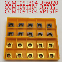 CCMT09T304 CCMT09T308 VP15TF/UE6020/US735 Internal Turning Tools Carbide inserts Cutting Tool CNC Lathe tools cutter