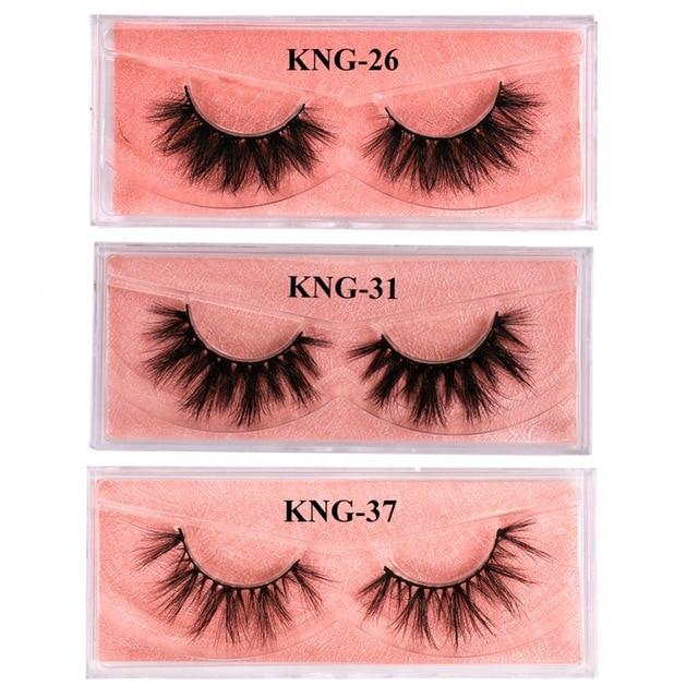 Eyewin False Eyelash 3D Mink Lash 100% Cruelty Free Lashes Cilios Dramatic Reusable Natural Eyelashes Popular Fake Lashes Makeup 2