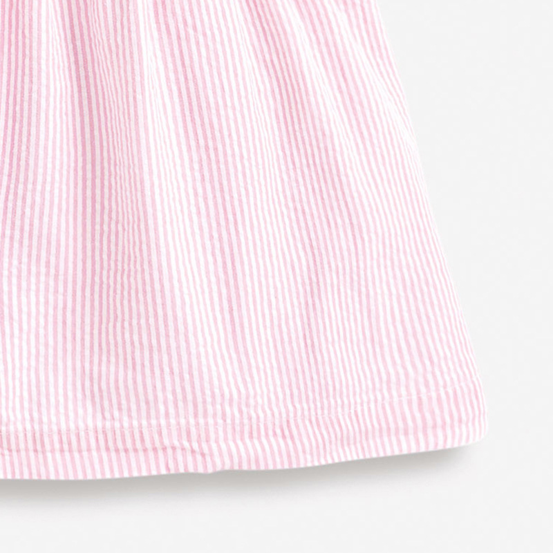 Little Maven 2021 New Summer Baby Girls Clothes Brand Dress Toddler Cotton Striped Boat Print Dresses for Kids 2-7 Years S0958 4