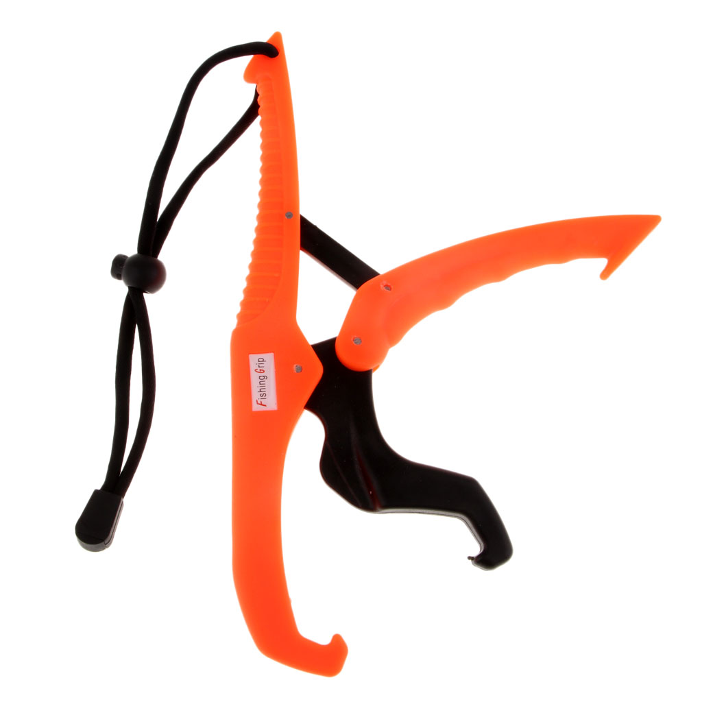 Plastic Floating Fishing Fish Grip Gripper with Lanyard Kayak Fishing Pliers