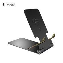 Yayuu Mini Mobile Phone Holder Desk For iPhone/Samsung/Xiaomi/Huawei foldable Aluminum alloy Stand f