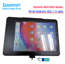 Aluminum Alloy Tablet PC wall mounted Anti Theft design Display Stand With Security Lock for ipad pro 10.5/11 Inch tablets стоимость