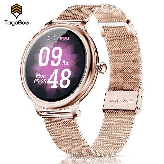 TagoBee Fashion Smart Watch Women Android Sport Blood Pressure Monitor Smart Watch Wrist Band Activity Tracker Under 1000