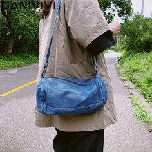 Fashion Jeans Denim Shoulder Bag Women Handbags Crossbody Messenger Bags for Women Purse Bolsos Mujer 2020 Torebki Damskie