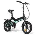 [EU Direct] Samebike JG7186 36V 250W 7.5Ah 16inch Opvouwbare Elektrische Fiets Bromfiets Fiets 25 km/h top Snelheid 65km Bereik E-bike EU Plug