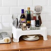 Кухонные принадлежности полка для хранения пола специи приправа ящик для хранения шкаф над плитой хранения полезный продукт