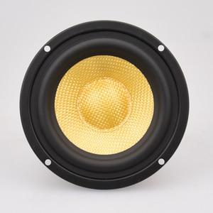 "Image 5 - HIFIDIY لايف HIFI 4 بوصة 4.5 ""Midbass مكبر الصوت وحدة مكبر الصوت 4 / 8 أوم 50 واط الألياف الزجاجية اهتزازي حوض مكبر الصوت BK4 116S"