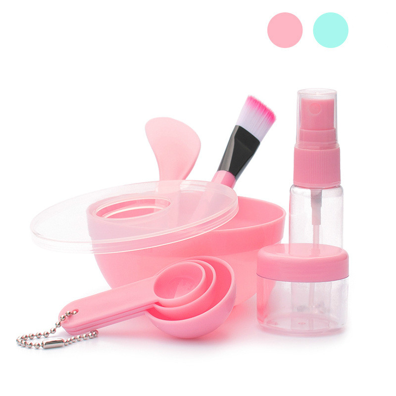 9 In 1 Mixing Bowl Brush Spoon Stick Beauty Make Up Set For Facial Mask Tools Women's Makeup Tool Kits Pincel Maquiagem