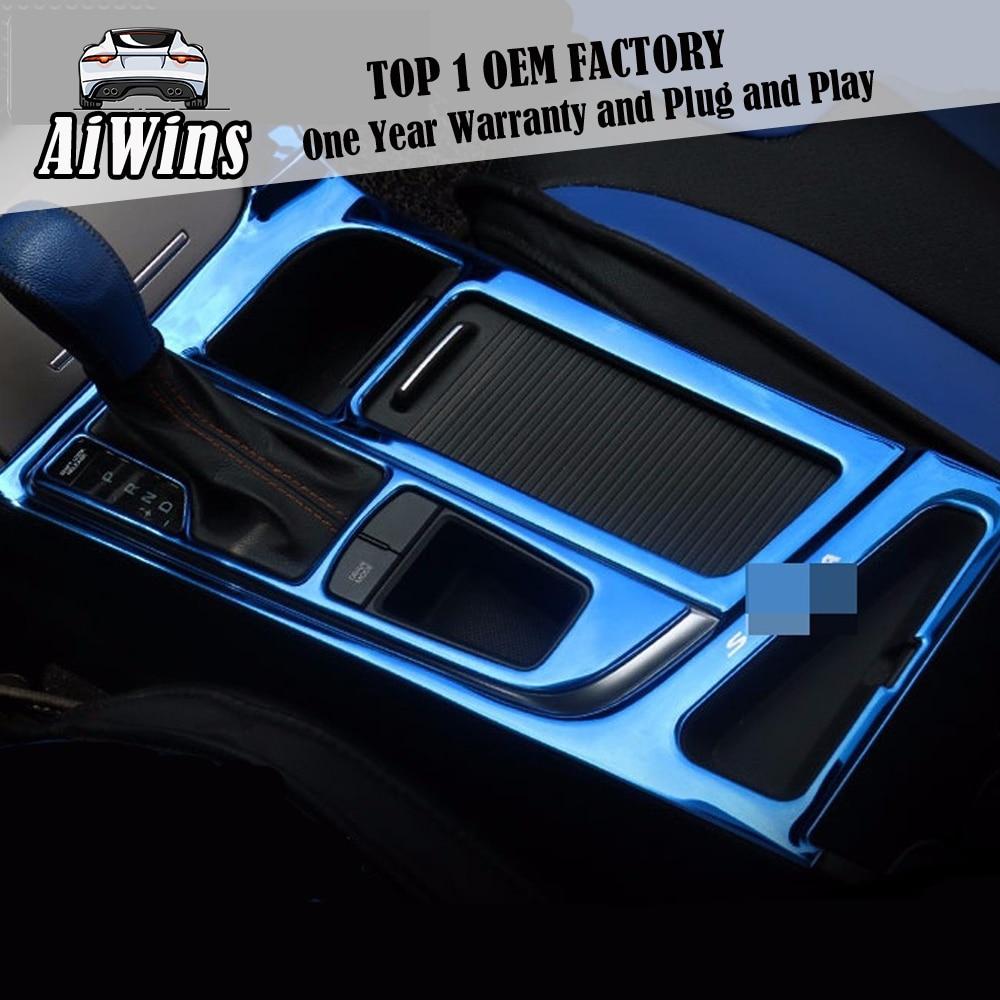 1x ABS Interior Rear Air Vent Outlet Cover Trim For Hyundai Sonata 9Th 2015 LF