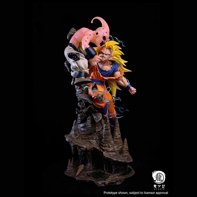 Son vs Buu Genuine Limited Hand-made Statue 1