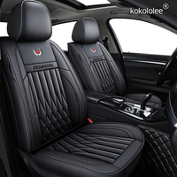 kokololee leather car seat cover For geely emgrand ec7 ec8 x7 atlas sc5 sc6 car seat covers for geely all models car seats