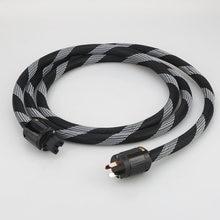 Силовой кабель p101 + dw22 из чистой меди с 3 зубцами au аудиофил