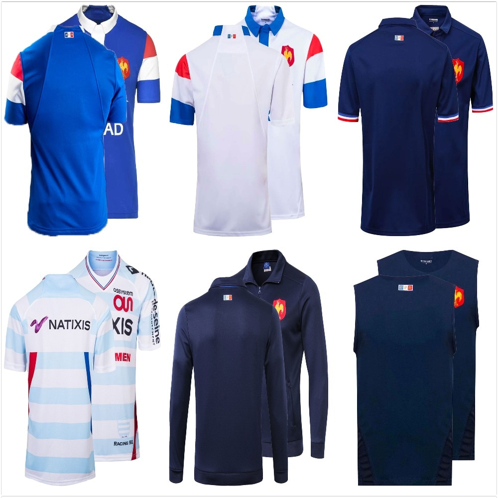 2019/2020 Breathable Rugby Jerseys Home 2019 Away Rugby Shirt Size S-3XL Free Ship