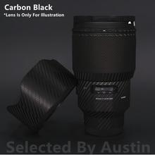 Pegatina de piel para lentes Sigma 85 f1.4, película de envoltura para montaje artístico E, funda protectora antiarañazos