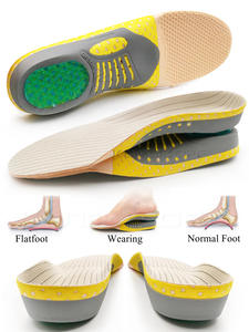Orthopedic Insoles Orthotics Flat Foot Health Sole Pad For Shoes Insert Arch Support