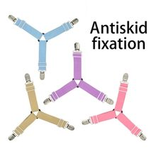 1Pc Adjustable Bed Sheet Fasteners Time-saving and convenient hold the four angles tightly fashion(China)