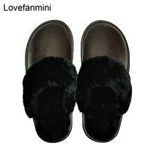 หนังวัวแท้รองเท้าแตะคู่ indoor non slip ผู้ชายผู้หญิงหน้าแรกแฟชั่น casual รองเท้า PVC นุ่มฤดูหนาว 611GP