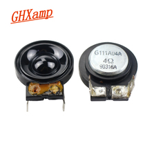 GHXAMP 26MM סופר הטוויטר רמקול מגנטי שדה גבוה המגרש רמקול 4 אוהם 5 W 2 Pcs