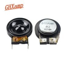 GHXAMP 26MM Super Tweeter Speaker Magnetic Field High Pitch Loudspeaker 4 Ohms 5 W 2 Pcs