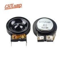 Ghxamp 26mm 슈퍼 트위터 스피커 자기장 하이 피치 라우드 스피커 4 ohms 5 w 2 pcs