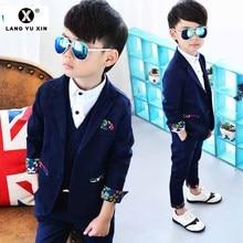 Children's Suit Formal Wedding Birthday Party Dress Boy Suit