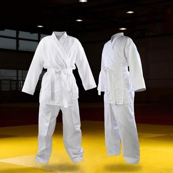 Alta calidad Dobok niño adulto uniforme de karate traje WTF Judo patada de Taekwondo boxeo marcial MMA arte ropa de entrenamiento dobok kimono
