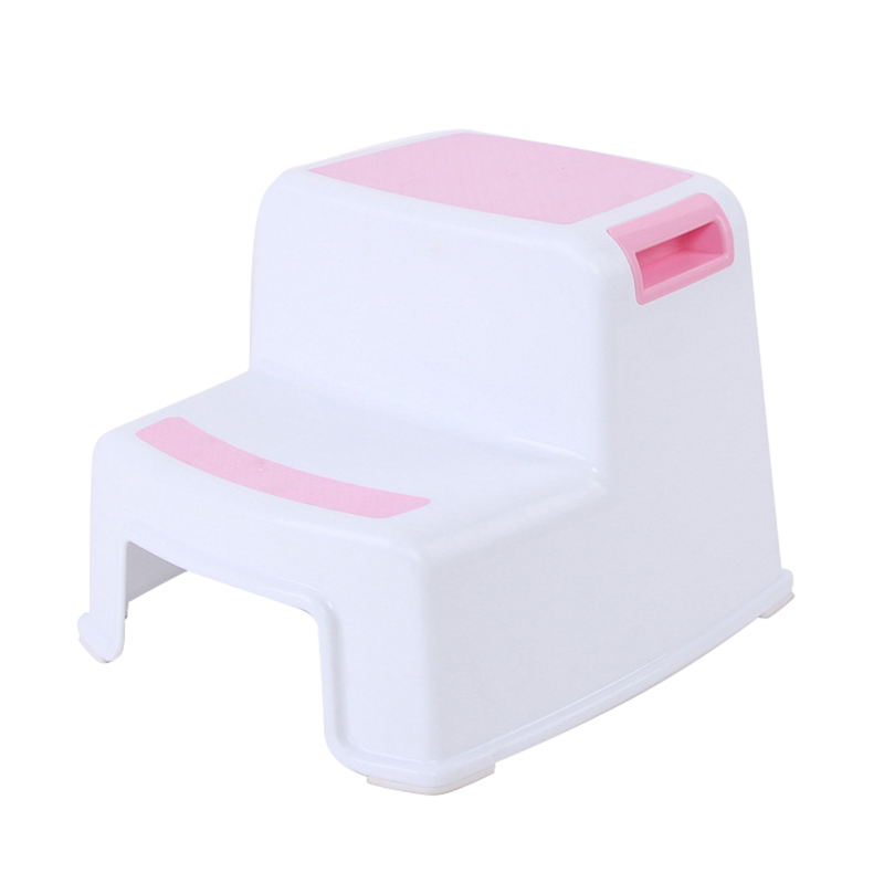 2 Step Stool Toddler Kids Stool Toilet Potty Training Slip Resistant For Bathroom Kitchen OCT998