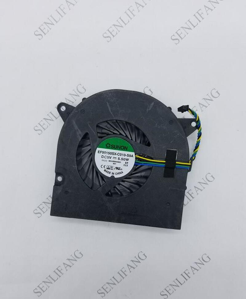 For Lenovo 00PC723 System Fan Ideacentre AiO 300-22ISU EF90150SX-C010-S9A FRU P/n 00PC723