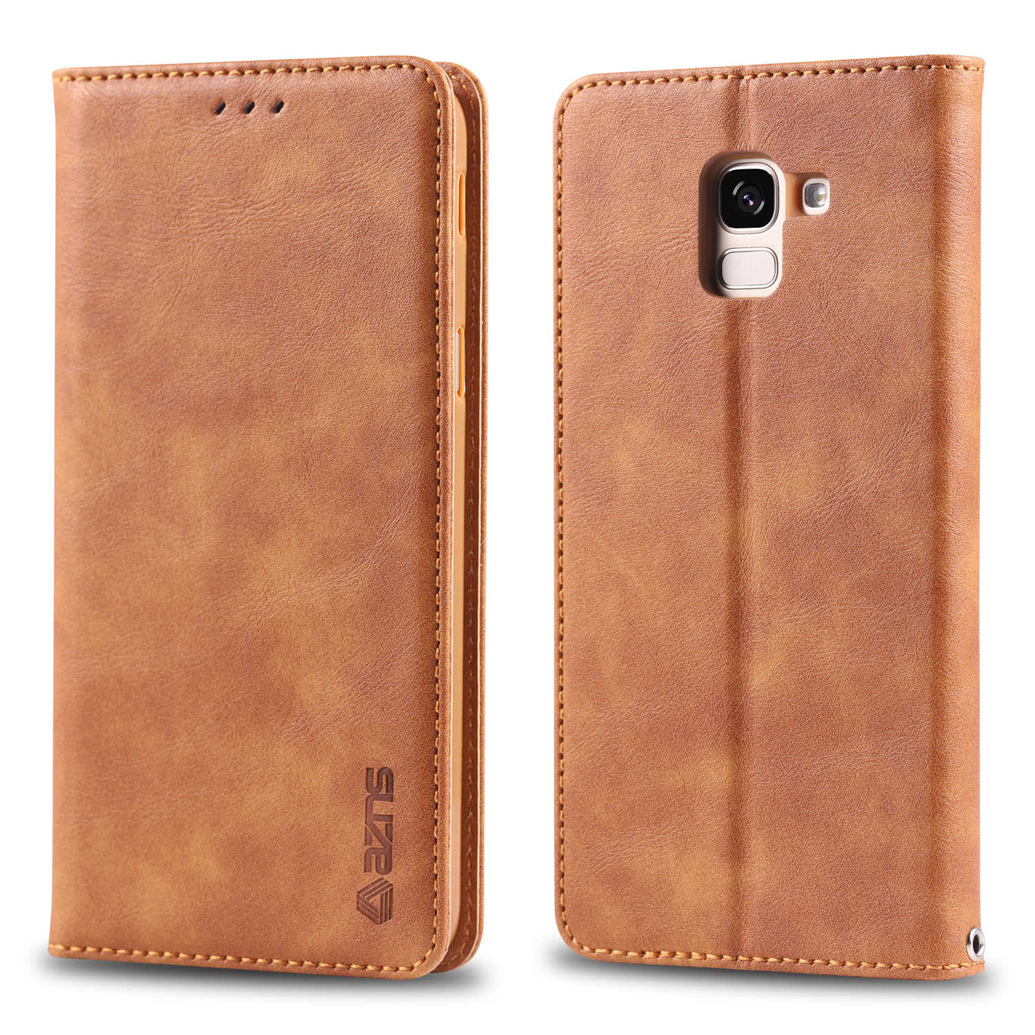 Case For Samsung Galaxy J4 J6 Plus 2018 S7 S8 S9 S10 A6 A8 Plus A9 s A7 2018 S10E 5G Note 9 5 Leather Flip Wallet Magnetic Cover