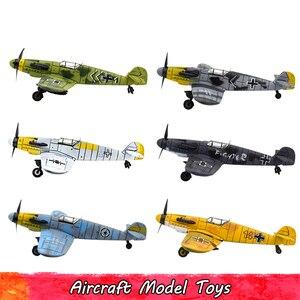 1/48 skala Montieren Kämpfer Modell Kits Spielzeug Für Kinder DIY Military Aircraft Diecast Krieg-II BF-109 Pädagogisches Spielzeug Für kinder